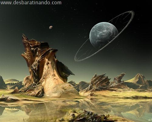 wallpapper desbaratinando planetas papeis de parede espaço planets space (5)