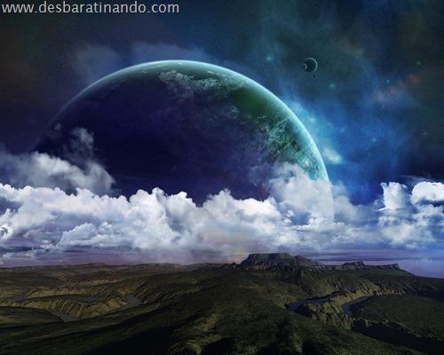 wallpapper desbaratinando planetas papeis de parede espaço planets space (7)