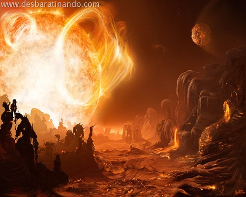 wallpapper desbaratinando planetas papeis de parede espaço planets space (16)