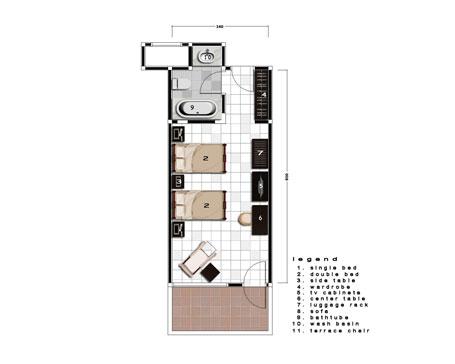 Deluxe Room in Ramayana Hotel