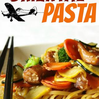 Oriental Sauce Pasta Recipes