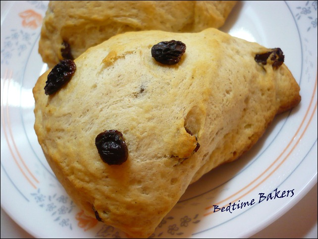 Cinnamon Raisin Scone