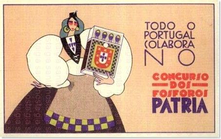 fosforos patria postal santa nostalgia