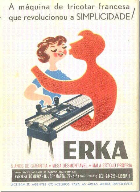 erka maquina de tricotar santa nostalgia