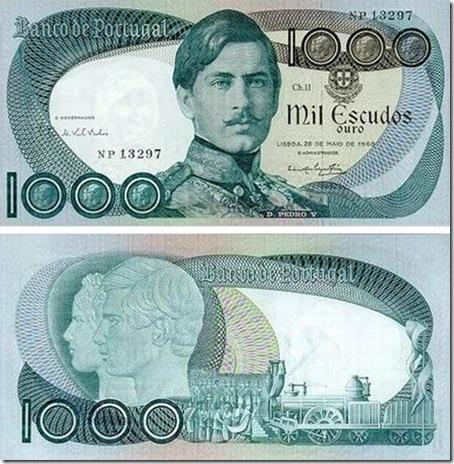 1000 escudos d pedro v santa nostalgia