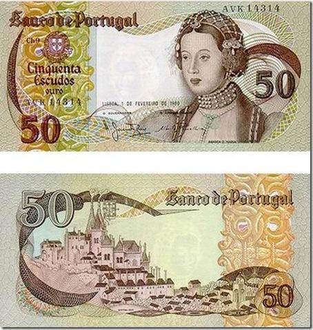 50 escudos infanta d maria santa nostalgia