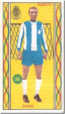 os famosos do futebol portugues universal 75_76 cromo 1 sn