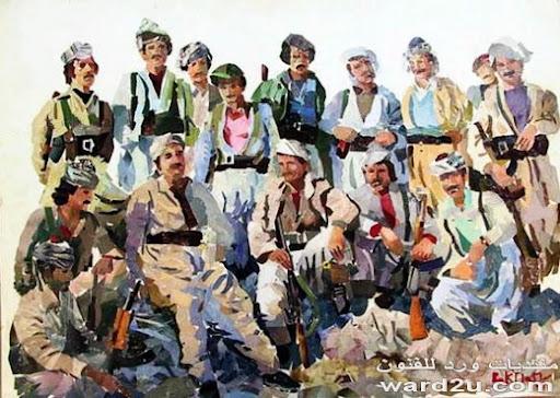 مائيات الرسام الكردي بختيار سور