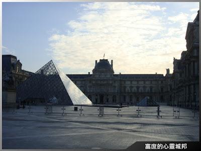 羅浮宮與玻璃金字塔