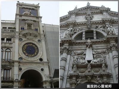 威尼斯聖馬可廣場內的經典建築