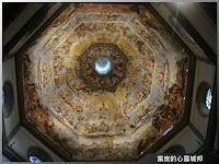 聖母百花大教堂的巨幅天頂畫