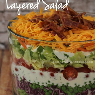 Perfect Layered Salad
