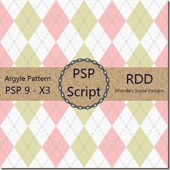 RDD-ArgylePatternDisplay
