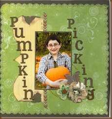 pumpkin picking 2009
