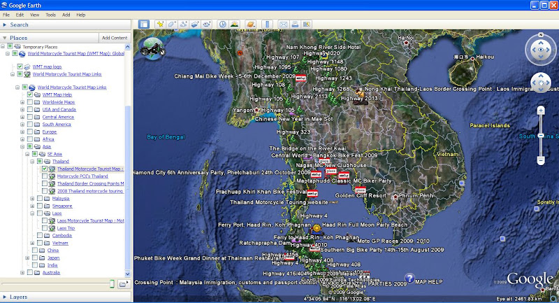 Google online world motorcycle tourist map asia riding adventure google online world motorcycle tourist map gumiabroncs Images