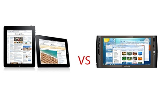 ipad vs archos copy
