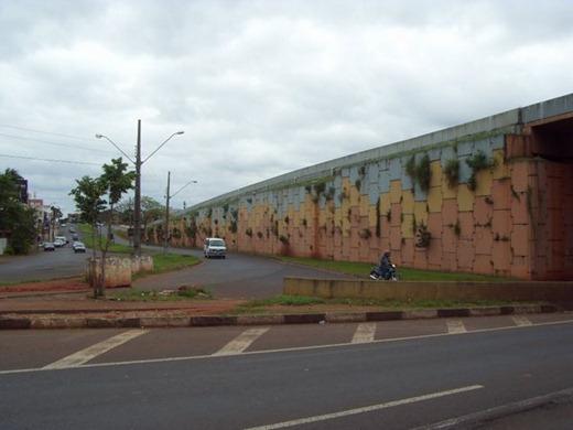 (1)Viaduto antes da revitalização