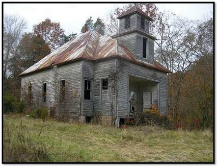 Haunted places on pinterest most haunted places bell witch and tennessee - The house in the abandoned school ...