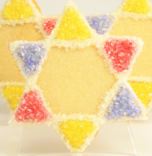 Artisan Star of David Cookie