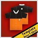 t-shirt templates kaos