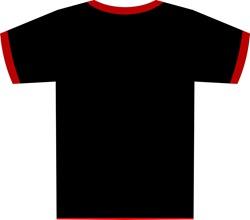 Template Desain Kaos T-Shirt