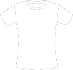 download t-shirt templates vector coreldraw