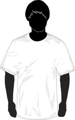 Download T-Shirt Template Vector