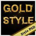 Free Gold Style Photoshop