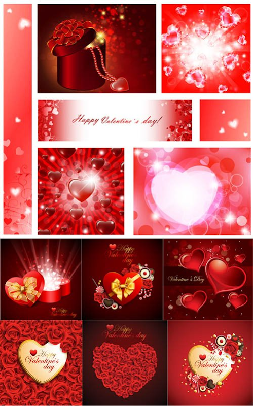 Free download Valentine's Day Hearts Pack