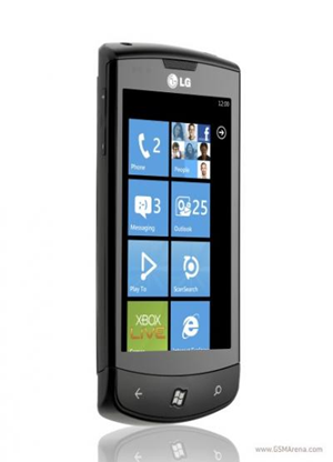 LG unveils its first Windows Phone 7 powered device, the Optimus 7