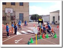 Un momento de la sesión práctica con alumnos de Infantil en el colegio Cooperativa 'Maestro Juan de Ávila y Santa Teresa'.