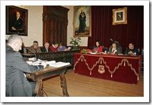 Imagen de archivo de una de las sesiones plenarias de la presente legislatura.