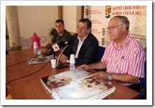 De izquierda a derecha, Paco Bermejo, Vicente de Gregorio y Paco Barba.
