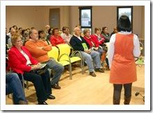 Público presente en la charla.