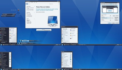 Pristine_OS_1_1,windows style xp theme  download,visual styles,xp佈景主題vista教學下載