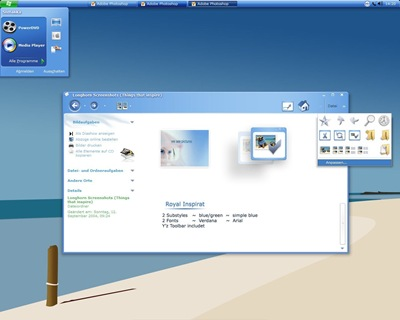 Royal_Inspirat,windows style xp theme  download,xp佈景主題vista,visual styles,xp佈景主題教學下載