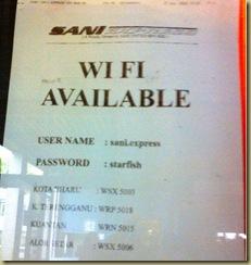 Label wifi