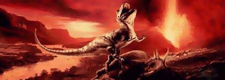 """""""dinosaurio_muriendo_TheResilientEarth"""""""