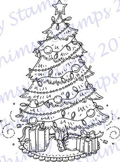 Meljens Designs Christmas Tree ONLINE