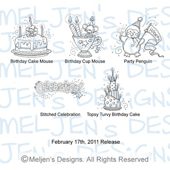 Meljens Designs February 17th Release Display