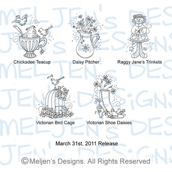 Meljens Designs March 31st Release Display