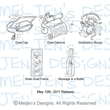 Meljens Designs May 12th Release Display