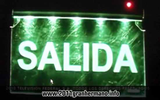 Salida Gran Hermano 2011