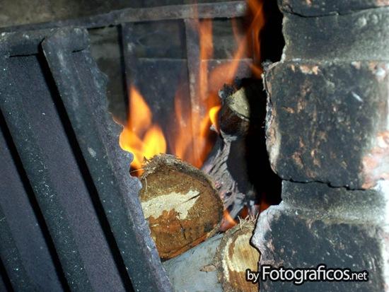 Prendiendo el fuego