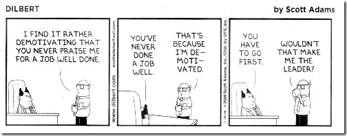 Dilbert demotivat