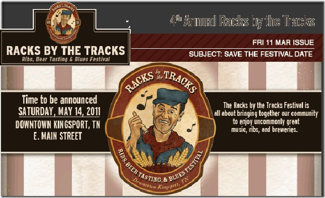 racks by the tracks