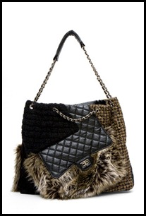 Chanel Faux Fur Handbag