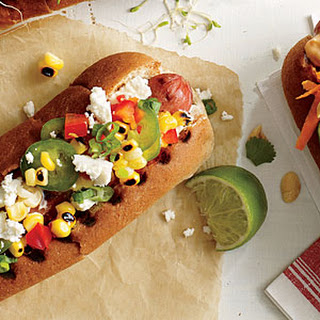 Confetti Corn Dog Hot Dog Topper