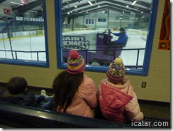 Everyone loves watching the zamboni