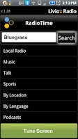 Screenshot of Livio Car Internet Radio Lite